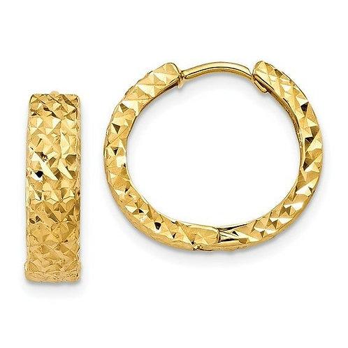 14K Huggies Earrings 4