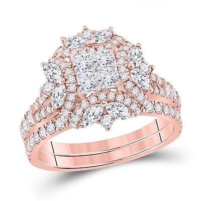 14K Rose Gold Elegant Ring