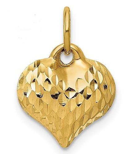 14K Gold Small Heart