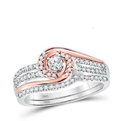 10K .33ctw Diamond Ring