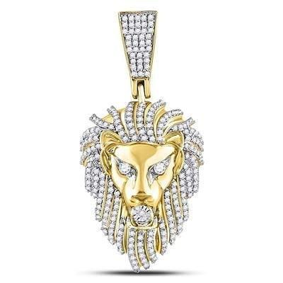 10KT Gold Lion