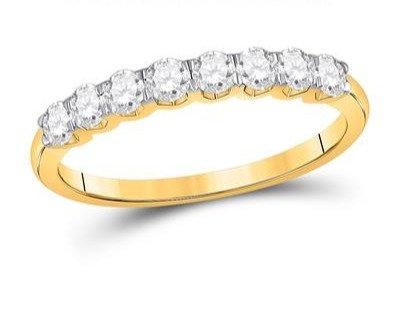 14K Gold .50ctw Diamond Ring