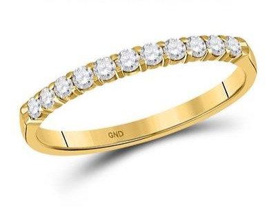 14K Gold .25ctw Diamond Ring 2