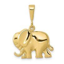 14K Gold Elephant Charm/Pendant