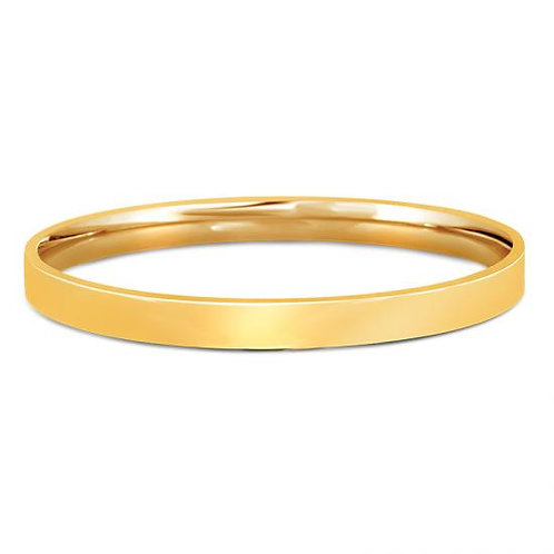 14K Gold Classic Bangle Yellow 6MM