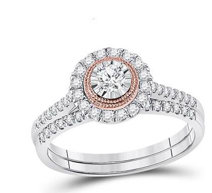 10K .50ctw Diamond Ring