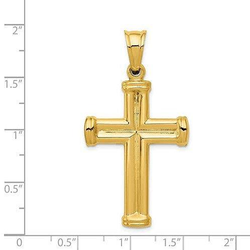 14k Gold Cross 4
