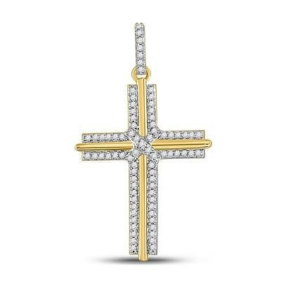 10 KT Gold Cross