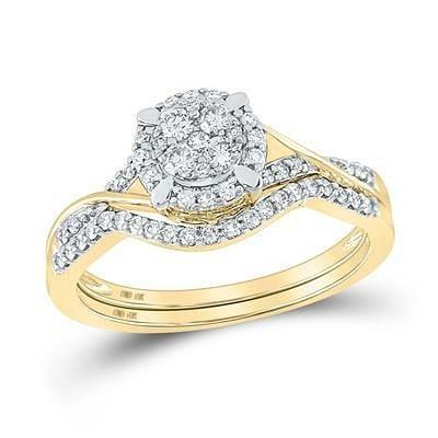 14K Diamond Engagement Ring 4