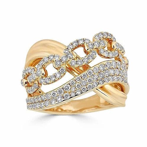 14K Gold 1.19ctw Diamond Ring 3