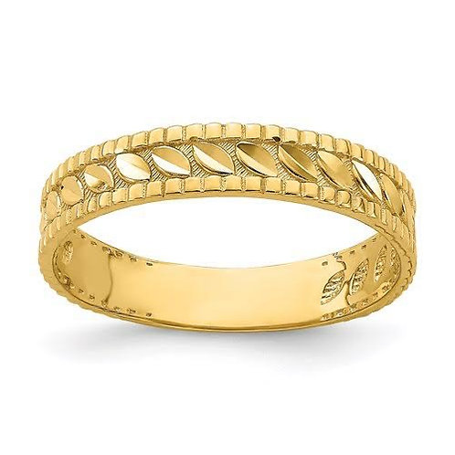 14k Gold Thumb Ring