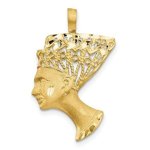 14K Gold Pharaoh Charm
