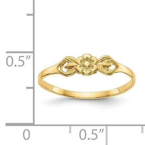14K Gold Baby Ring