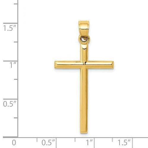 14k Gold Cross 3