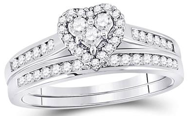 10K Ring .50ctw Diamonds