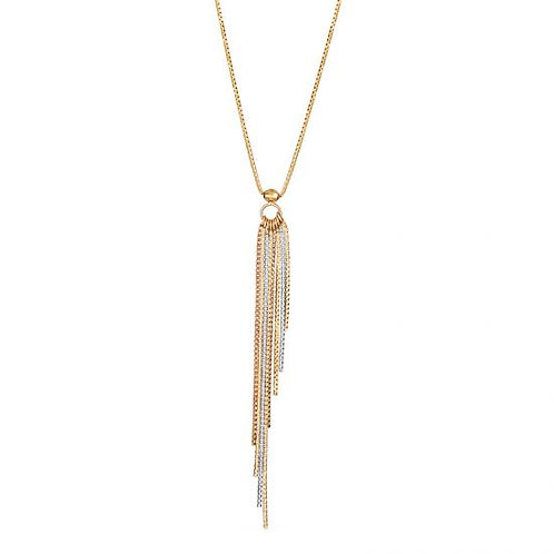 14K Gold Drop Necklace or Earrings