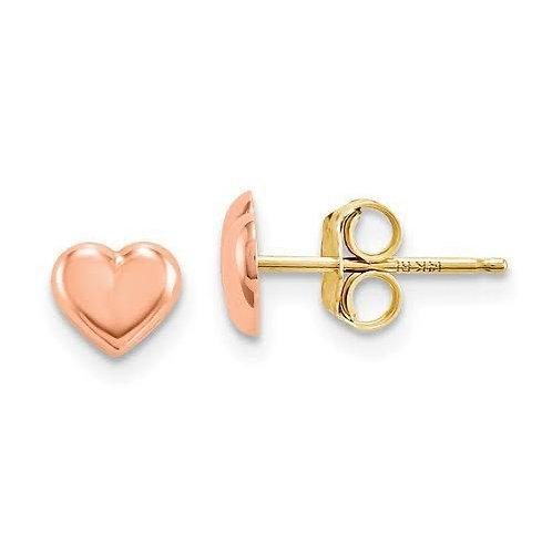14k Gold Rose Gold Earrings