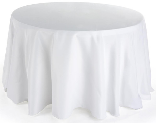 Round Table Cloth - 130 Inches