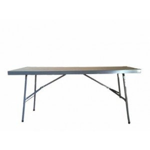 Stainless Steel Trestle Table