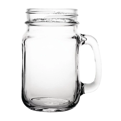 Chipping Norton Event Hire | Handled Jam Jar Glass