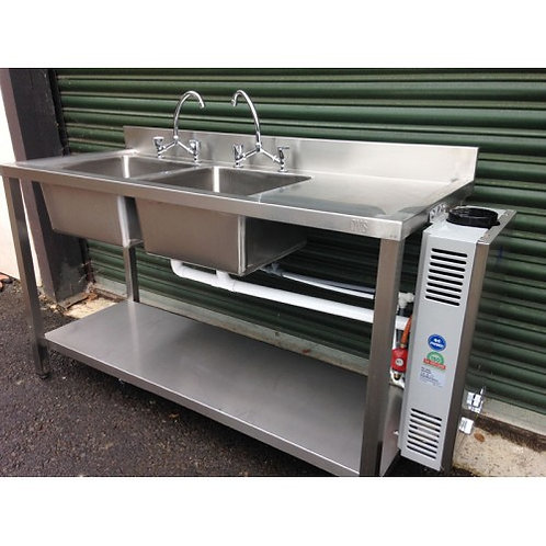 Chipping Norton Event Hire | Oxfordshire | Stainless Steel Sink Hire