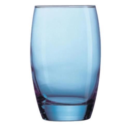Chipping Norton Event Hire | Salto Ice Blue Hi Ball glasses