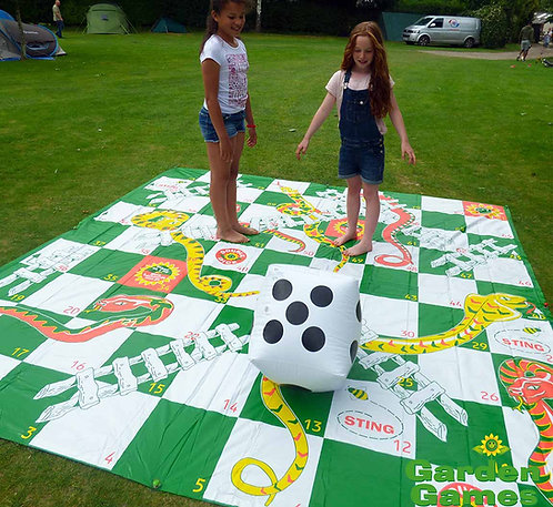 Chipping Norton Event Hire | Oxfordshire | Giant Snakes and Ladders for Hire