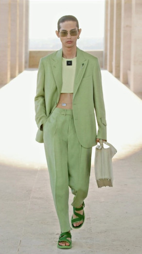 Roman Madonna: Silvia Venturini Fendi Presents Yet Another One of Her Queer Children For 2022...