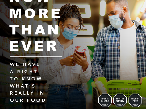 Now More than Ever: Better Labels, Better Choices, Better Health