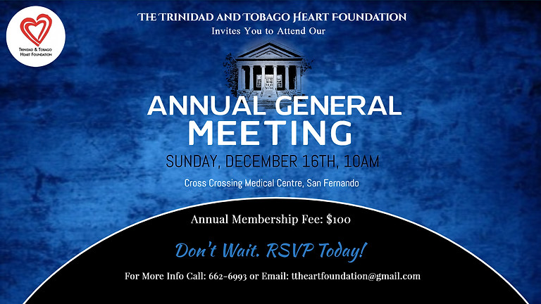 Annual General Meeting - 2018