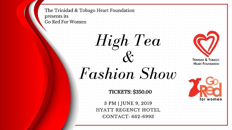 Go Red For Women High Tea & Fashion Show