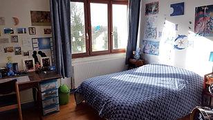 Chambre bleue, Gites Espace Detente Charente