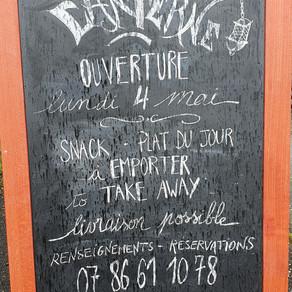 """Restaurant """"La Lanterne"""", Roussines en Charente"""