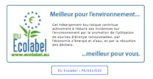 Certificat Ecolabel 2018