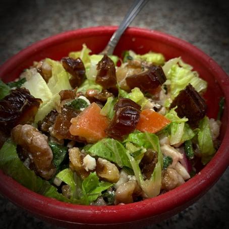Date Walnut Salad