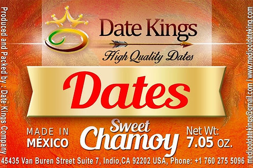 Sweet Chamoy Medjool Dates