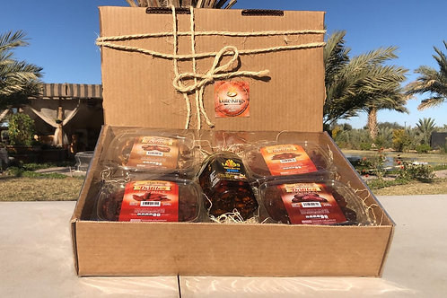 Date Kings Rustic Holiday Gift Box
