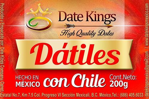 Dátiles con Chile