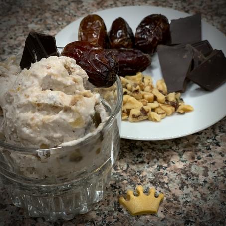 Easy Date Coconut Ice Cream