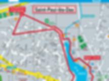 Parcours 5 km de la course la saint-pauloise
