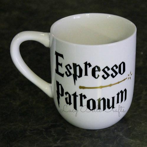 Espresso Patronum 12 Ounce Coffee Mug