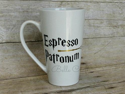 Espresso Patronum 16 Ounce Tall Coffee Mug