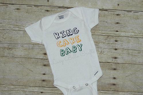 King Cake Baby - Onesie