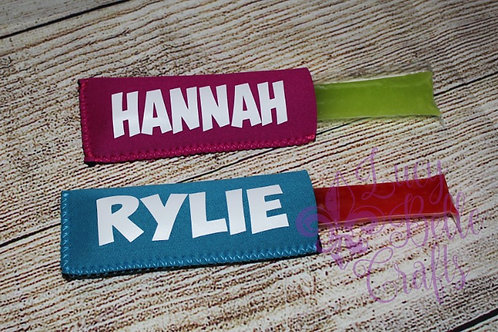 Personalized Popsicle Holders