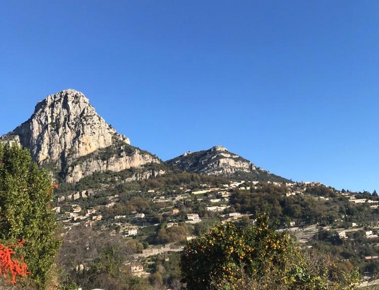 Vence terrain vue panoramique