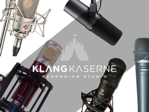 Vocal Mic Shootout Klangkaserne