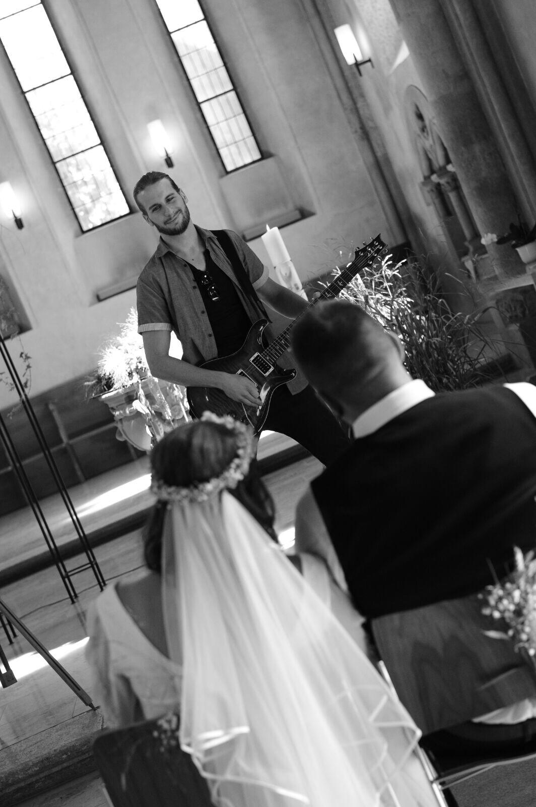 Soloauftritt an einer Hochzeit