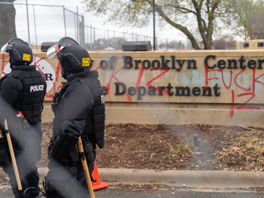 [Photos] April 13: Day 3 of Daunte Wright protests at Brooklyn Center police department