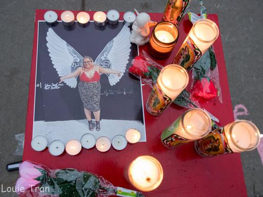 [Photos] Candlelight Vigil for Briana Bmoney