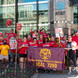 [Photos] CWA 7250 union picket vs AT&T store closings and layoffs